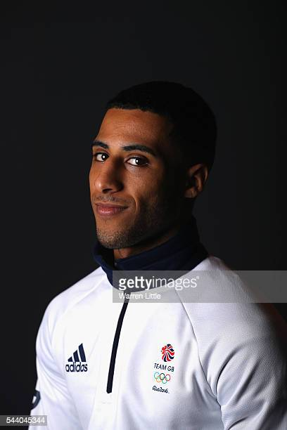 A portrait of Galal Yafai a member of the Great Britain Olympic team during the Team GB Kitting Out ahead of Rio 2016 Olympic Games on July 1 2016 in...