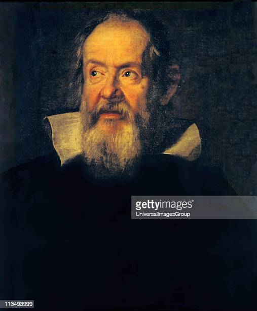 Portrait of Galileo Galilei by Justus Sustermans Flemish artist Galileo Italian physicist mathematician astronomer and philosopher