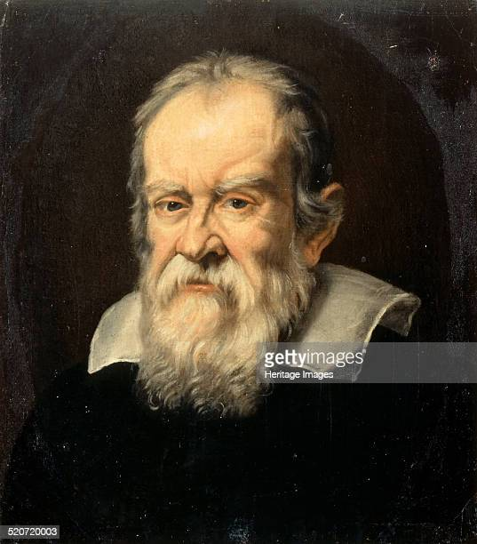Portrait of Galileo Galilei. Found in the collection of Musée de l'Histoire de France, Château de Versailles.