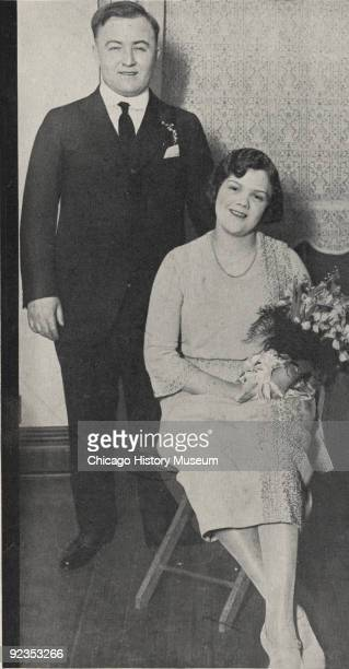 Portrait of gangster Dion O'Banion and his wife Viola Kaniff Chicago IL ca1920s