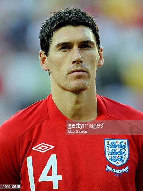 Portrait of Gareth Barry of England before the start of the 2010 FIFA World Cup South Africa Group C match between Slovenia and England at the Nelson...