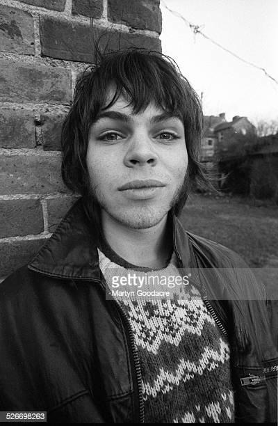 Portrait of Gaz Coombes of Supergrass, Oxford, United Kingdom, 1994.