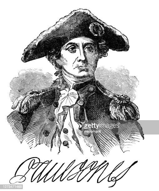 portrait of general charles cornwallis - governor stock pictures, royalty-free photos & images