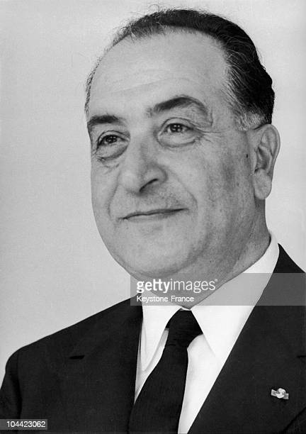Portrait Of General Fouad Chehab The President Of The Lebanese Republic On May 2 1961