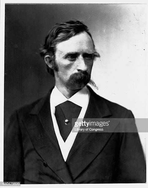 Portrait of General George Armstrong Custer in a suit