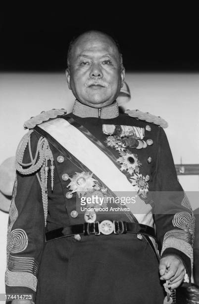 Portrait of General Kazushige Ugaki Governor General of Korea who is being discussed as the first choice to succeed Admiral Viscount Saito as Premier...