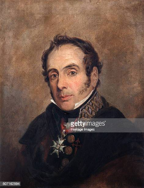 Portrait of General Miguel Ricardo da Alava Spanish soldier 1821 A veteran of the Spanish contingent at Trafalgar Alava joined the uprising against...