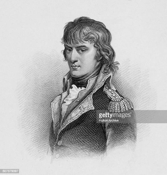 A portrait of General Napoleon Bonaparte of the Army of Italy on 1 June 1797 in Verona Italy An engraving by William Read from an original painting...