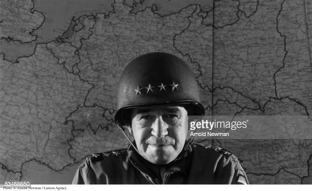 Portrait of General Omar Bradley January 1, 1951 in Washington DC. During World War II he led the US Army in the invasion of Normandy. He was...