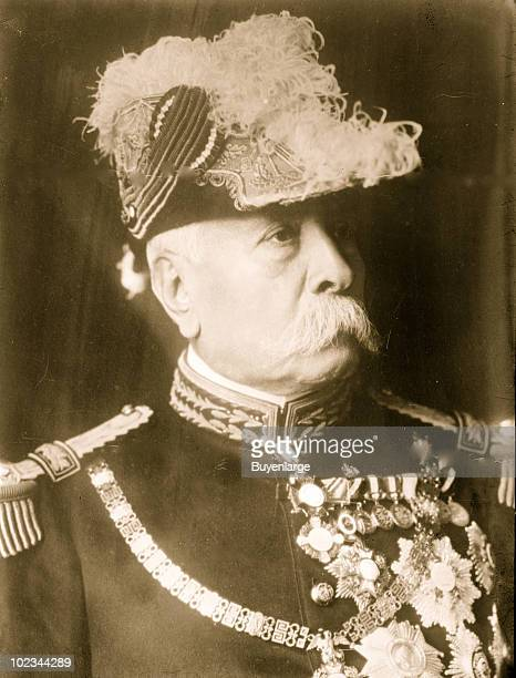 Portrait of General Porfirio Diaz president of Mexico ca1900