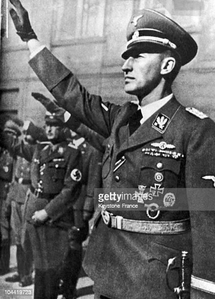 Portrait Of General Reinhard Heydrich Around 1942.