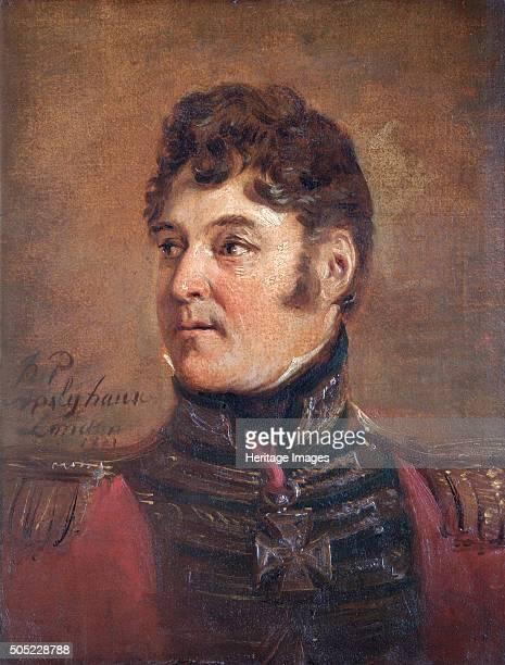 Portrait of General Sir Colin Halkett British soldier 1821 In 1815 at the Battle of Waterloo MajorGeneral Halkett commanded 5th Brigade in General...