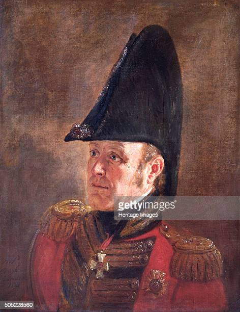 Portrait of General Sir George Cooke British soldier 1821 In 1815 at the Battle of Waterloo MajorGeneral Cooke commanded 1st Division who...