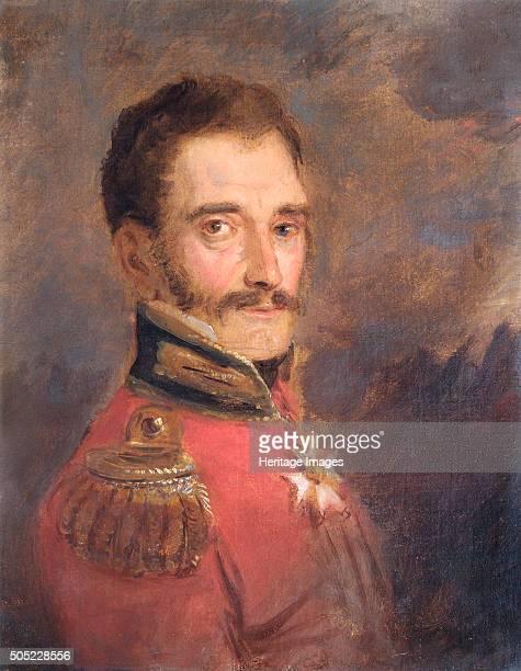 Portrait of General Sir John Elley British soldier 1821 In 1815 at the Battle of Waterloo Colonel Elley was deputy adjutantgeneral of cavalry Notably...