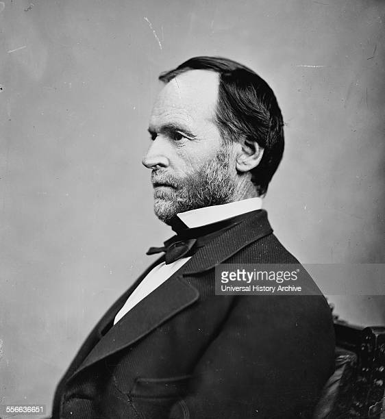 Portrait of General William Tecumseh Sherman an American soldier General in the Union Army businessman educator and author Dated 1865