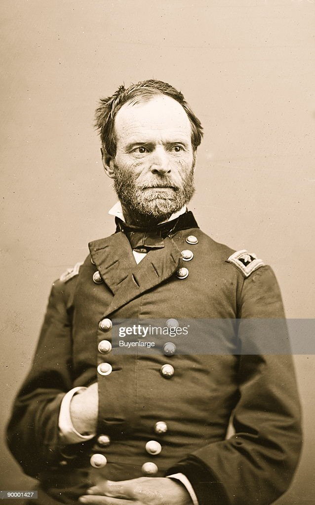 Portrait of General William Tecumseh Sherman : News Photo