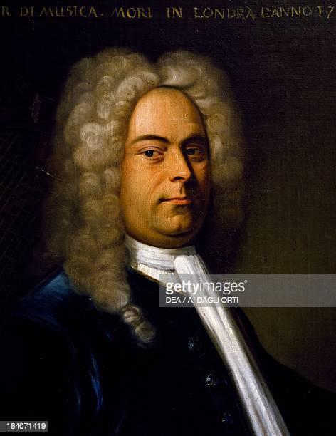 Portrait of Georg Friedrich Handel , German composer. Bologna, Civico Museo Bibliografico Musicale