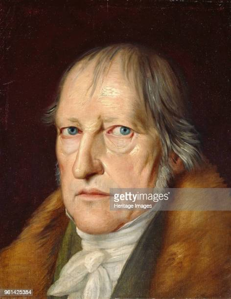 Portrait of Georg Wilhelm Friedrich Hegel 1831 Found in the Collection of Staatliche Museen Berlin