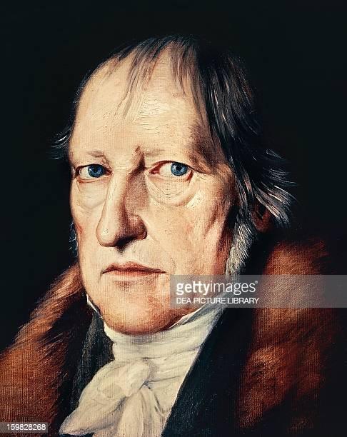 Portrait of Georg Wilhelm Friedrich Hegel German philosopher Berlino Dahlem Staatliche Museen Zu Berlin Museum Europaischer Kulturen