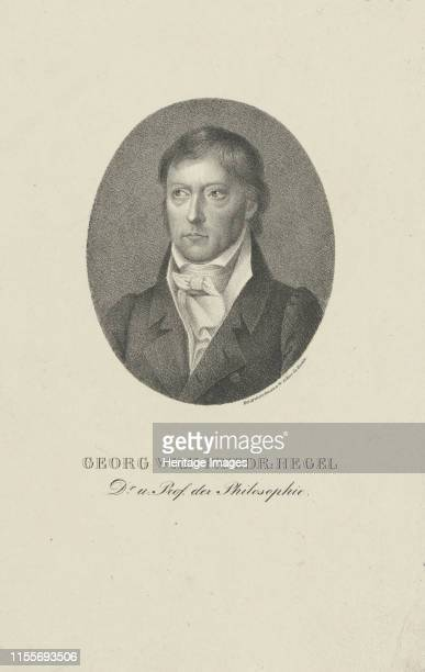 Portrait of Georg Wilhelm Friedrich Hegel Private Collection Artist Anonymous
