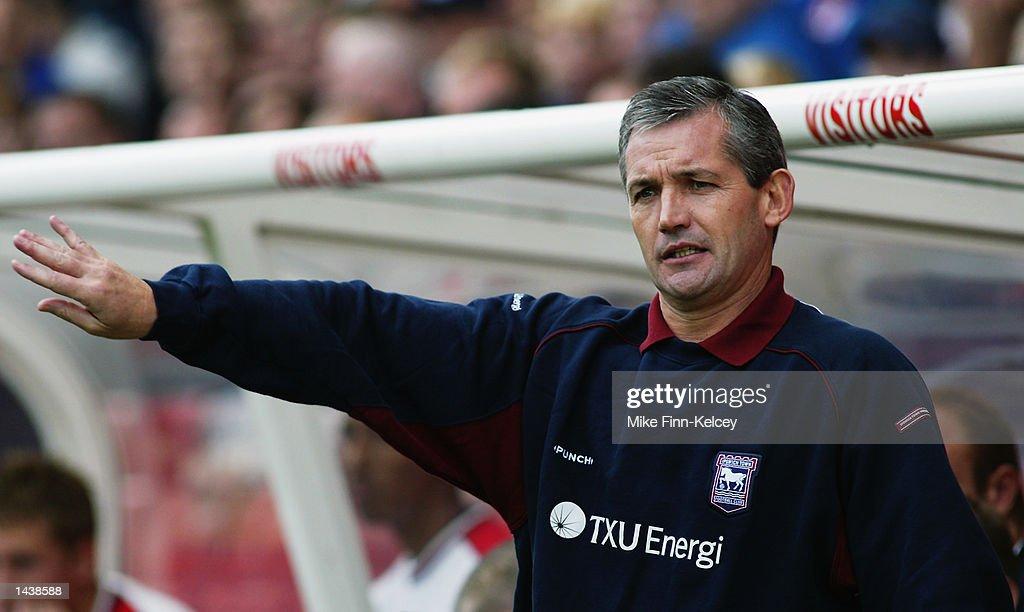 George Burley Ipswich Coach : News Photo
