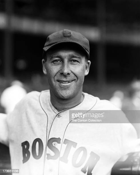 A portrait of George E Walberg of the Boston Red Sox in 1934