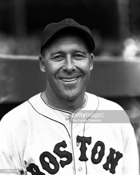 ca2e32fd60 A portrait of George E Walberg of the Boston Red Sox in 1936