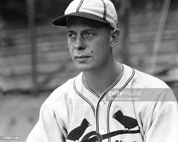 Portrait of George E. Walberg of the Boston Red Sox in 1936.