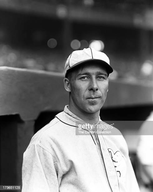 A portrait of George E Walberg of the Philadelphia Athletics in 1924