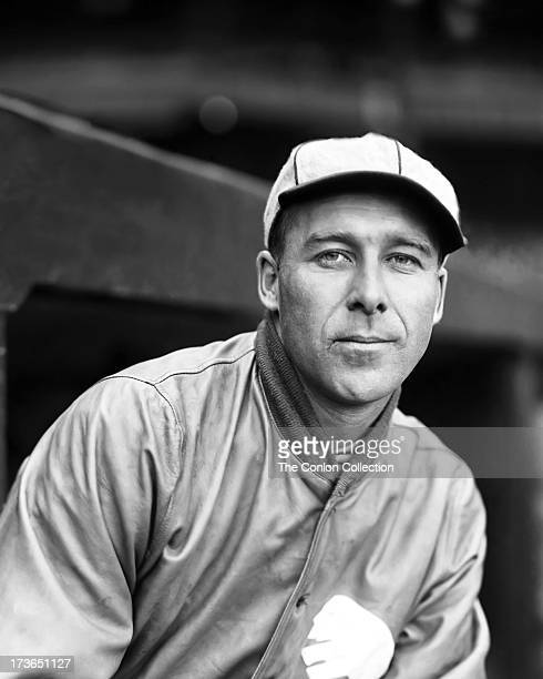 A portrait of George E Walberg of the Philadelphia Athletics in 1927