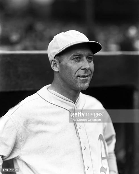 Portrait of George E. Walberg of the Philadelphia Athletics in 1930.