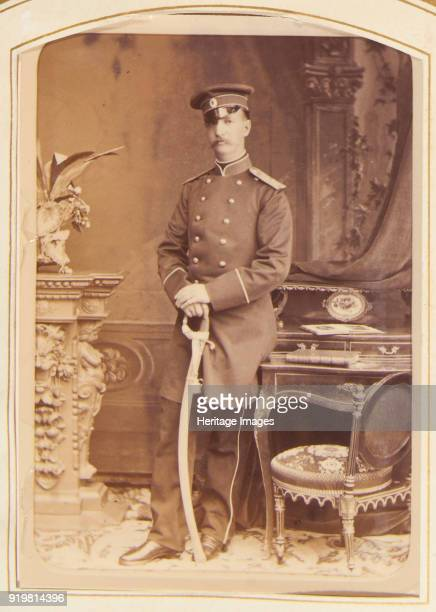 Portrait of George I King of the Hellenes 1877 Found in the collection of Russian State Film and Photo Archive Krasnogorsk