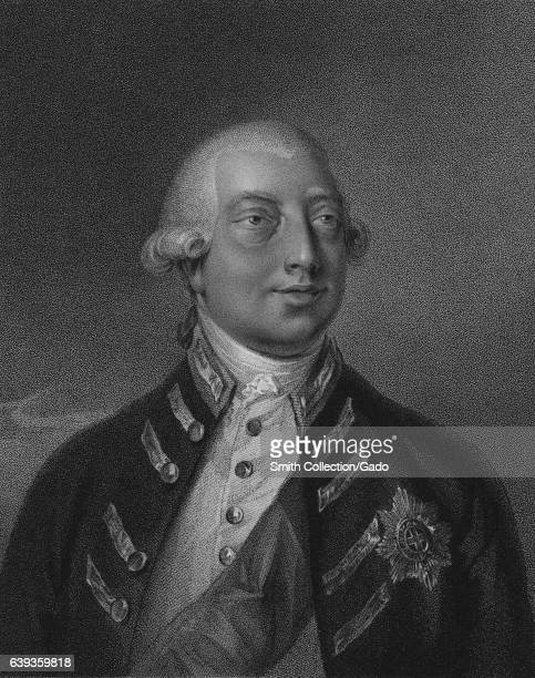 Portrait of George III King of Britain by Peter William 1801 From the New York Public Library