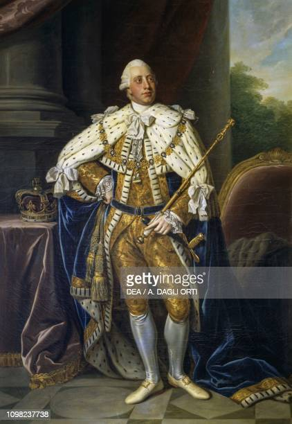 Portrait of George III King of Great Britain and Ireland by Nathaniel Dance
