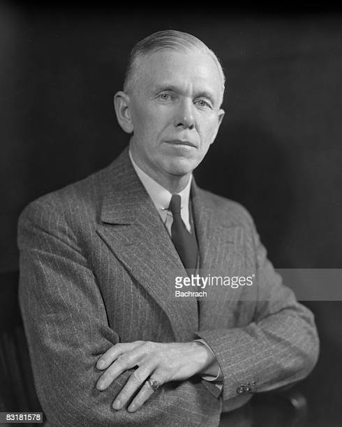 Portrait of George Marshall , American five star general and author of the Marshall Plan, Washington, D.C., 1948.