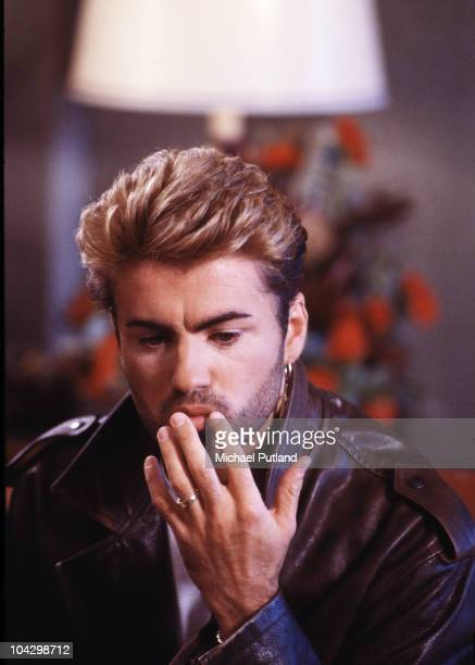 A portrait of George Michael during his Faith world tour in Sydney Australia March 1988