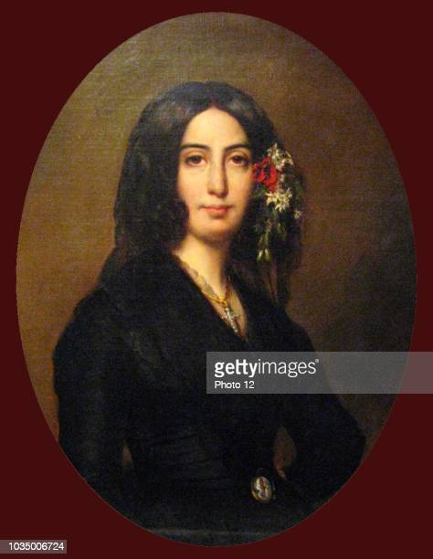 Portrait of George Sand French novelist and memoirist She is equally well known for her much publicized romantic affairs with a number of artists...
