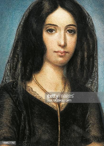 Portrait of George Sand pseudonym of AmantineLucileAurore Dupin French writer