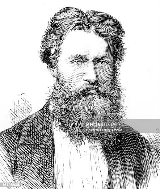 Portrait of George Smith an English Assyriologist Dated 19th Century