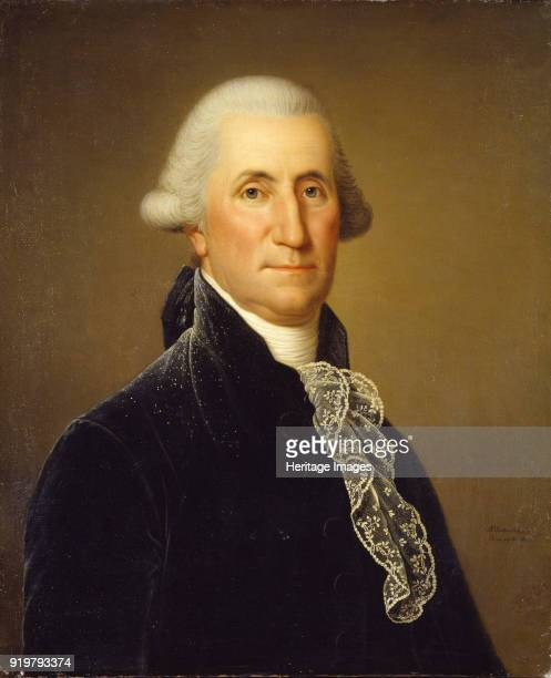 Portrait of George Washington 1795 Found in the collection of Nationalmuseum Stockholm