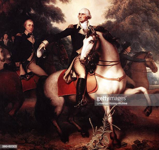 Portrait of George Washington before Yorktown Painted by Rembrandt Peale American artist and museum keeper Dated 1823