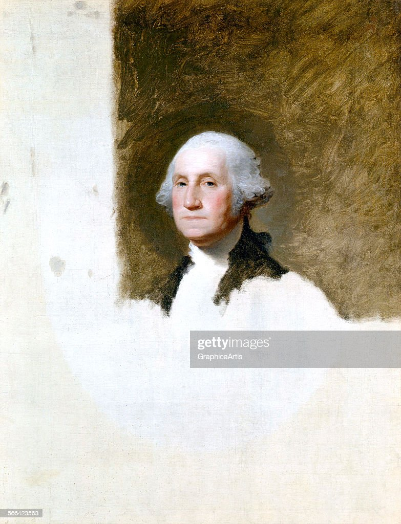 George Washington By Stuart : News Photo