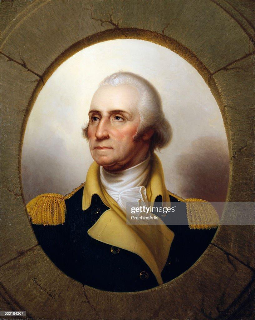 George Washington By Peale : Foto jornalística