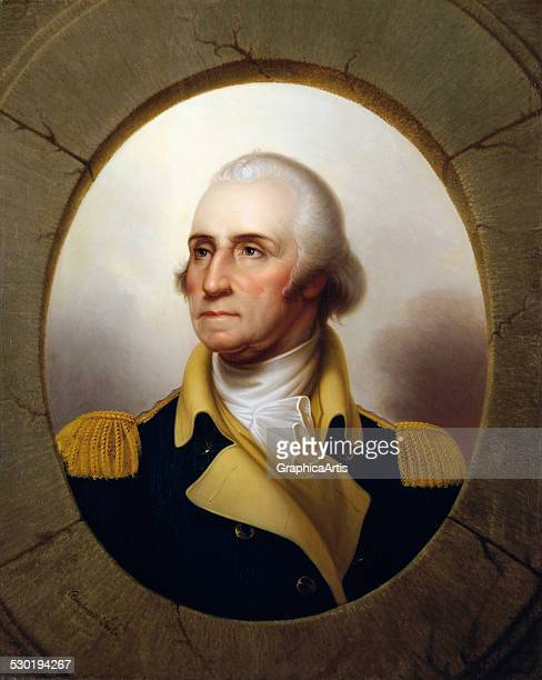 Portrait of George Washington by Rembrandt Peale c 1853