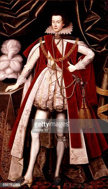 Portrait of Georges Villiers Duke of Buckingham Anonymous 17th London National gallery