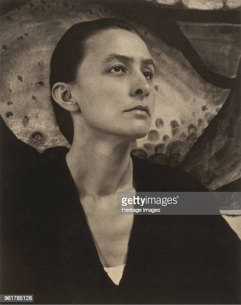 Portrait of Georgia O'Keeffe 1918 Private Collection