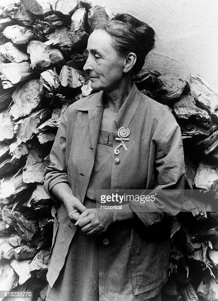 Portrait of Georgia O'Keeffe Became part of the New York art circle with her husband Afred Stieglitz in the early part of the 20th century O'Keeffe...