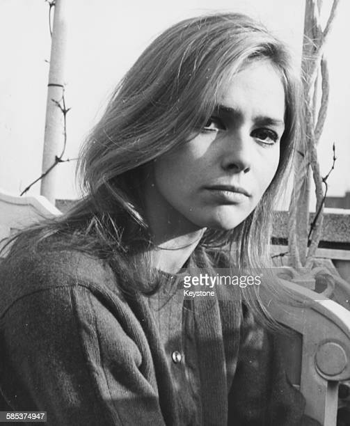 Portrait of German actress Eva Renzi star of the film 'Funeral in Berlin' at the Dorchester Hotel in London February 12th 1967