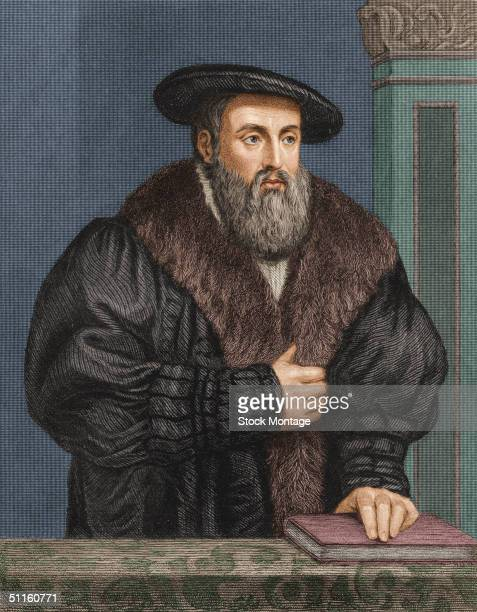 Portrait of German astronomer and astrologer Johannes Kepler known for discovering the principles of planetary motion and as a pioneer in work with...