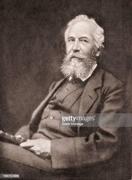 Portrait of German biologist and evolutionist Ernst Haeckel , early 20th century.